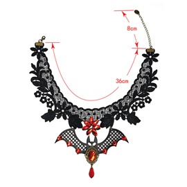 Ericdress Floral Baking Varnish Female Necklaces