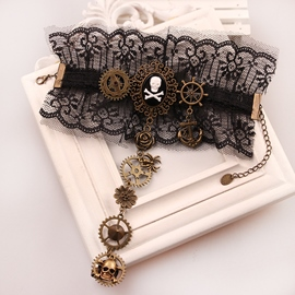 Ericdress E-Plating Skull Female Bracelets