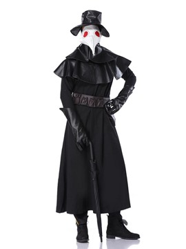 Ericdress Falbala Plain Classic Halloween Long Sleeve Costumes