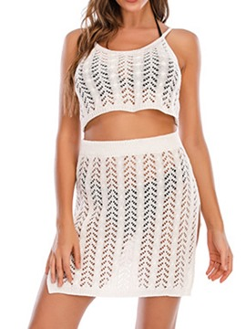 ericdress fashion hohle tankini set badebekleidung