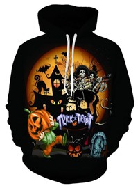 Ericdress Pullover Print Pullover Hoodies