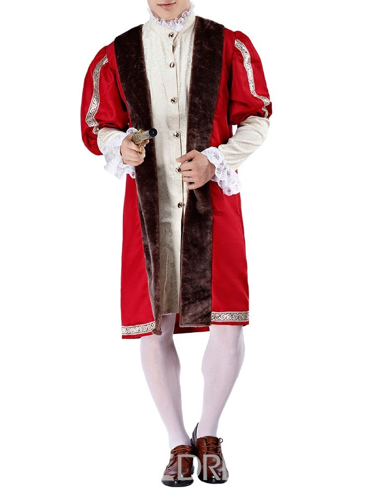 Ericdress Classic Halloween Color Block Lace Long Sleeve Costumes