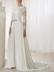 Ericdress Sexy Embroidery Full Length Culottes Slim Jumpsuit