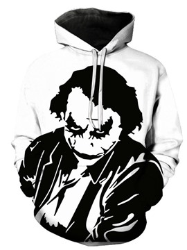 Ericdress Print Cartoon Pullover Loose European Men's Coat Hoodies