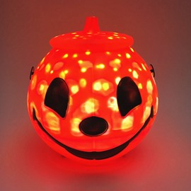Ericdress Halloween Holiday Lights Pumpkin Head