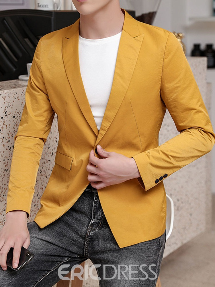 Ericdress OL Button One Button Leisure Blazer