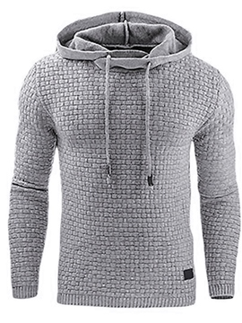 Ericdress Pullover Plain Spring Men's Hoodies