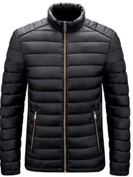 Ericdress Stand Collar Standard Plain European Men's Down Jacket