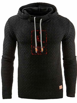 Ericdress Pullover Regular Print Casual Men's Hoodies