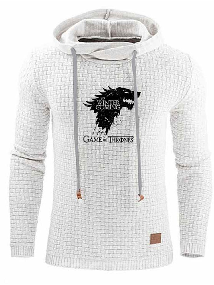 Ericdress Pullover Print Animal Fall Casual Men's Hoodies