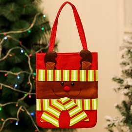 Ericdress Cloth Color Block Christmas Decoration Bag Supplies