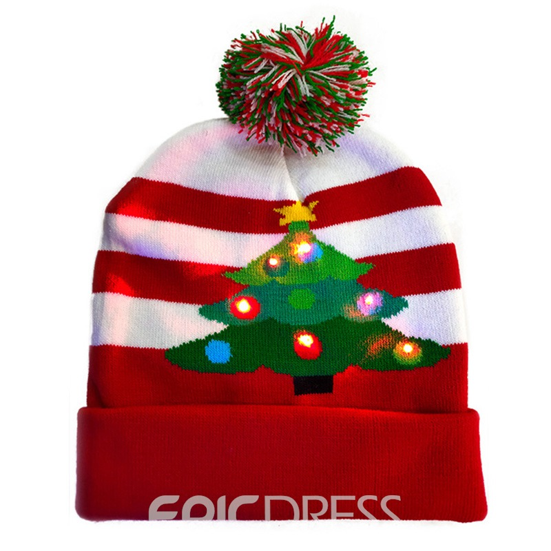 Ericdress Letter Acrylic Christmas Decoration Hat Supplies