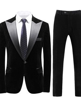 Ericdress Pants Formal One Button Dress Suit