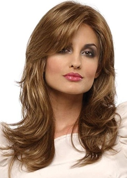 Ericdress Natural Looking Women's Long Layered Wavy Synthetic Hair Capless Wigs 24inch