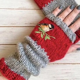 Ericdress Animal Casual Winter Gloves