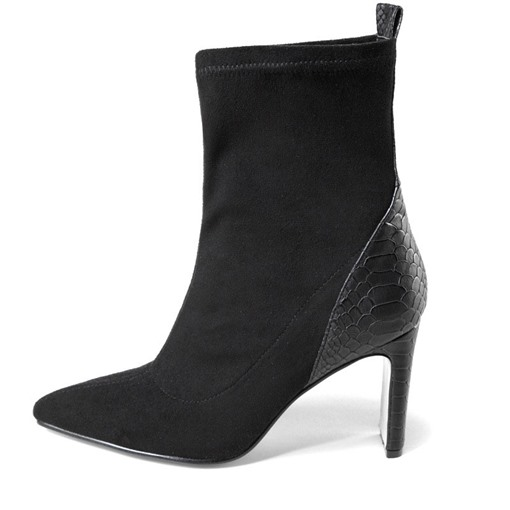 Ericdress Patchwork Slip-On Chunky Heel Professional Boots