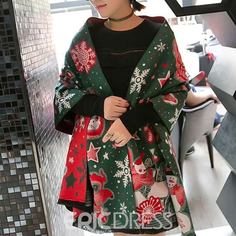Ericdress Geometric Polyester Christmas Decoration Supplies
