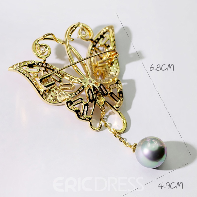 Ericdress Copper European Brooches Brooches