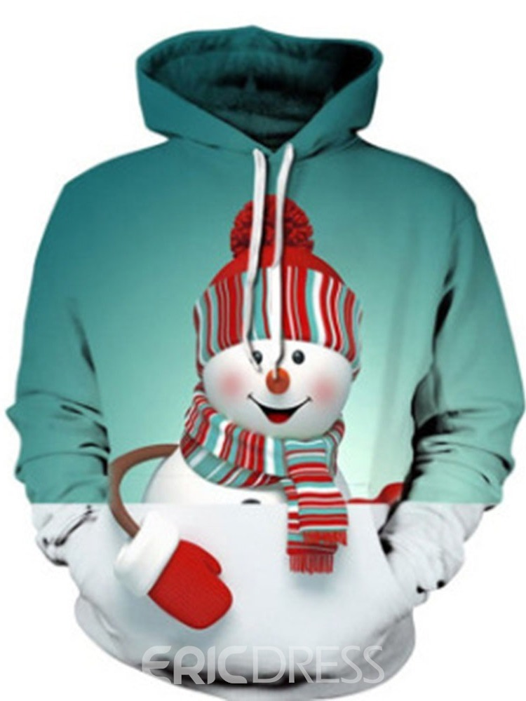Ericdress Pullover Print Pullover Hooded Hoodies