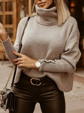 Ericdress Thin Regular Button Long Sleeve Fall Sweater