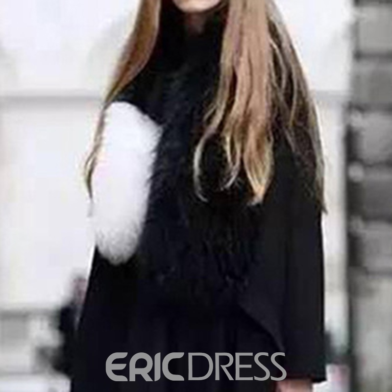 Ericdress Scarf Euroamerica Color Block Scarves