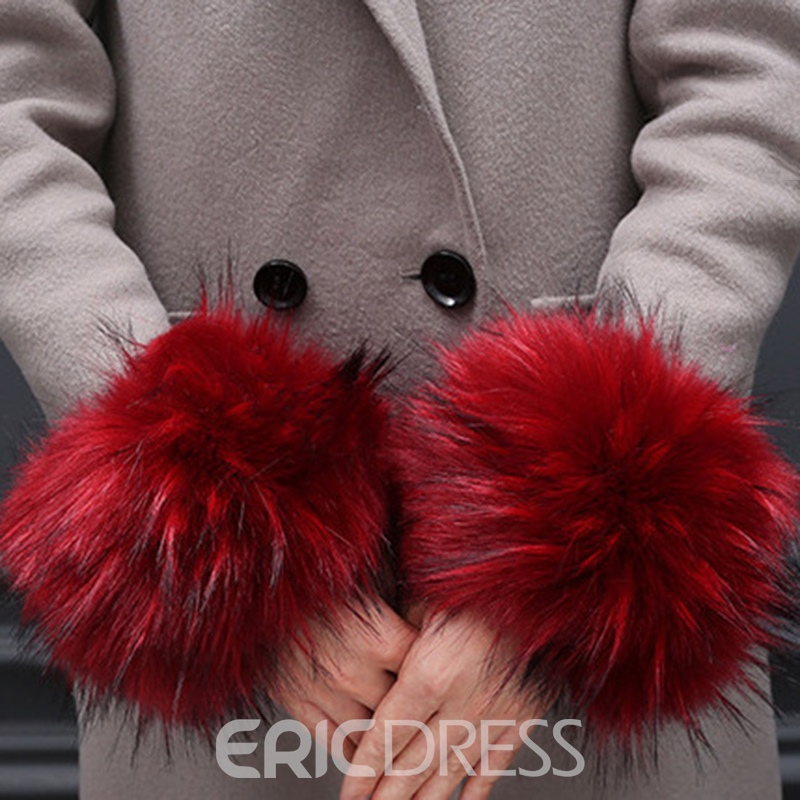 Ericdress Sweet Color Block Fall Gloves