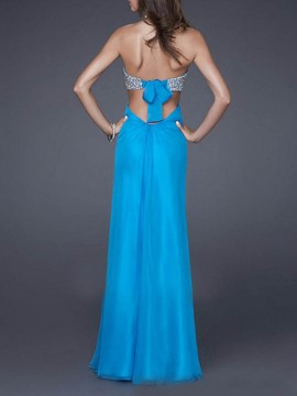 Ericdress Floor-Length Backless Sleeveless All-Season Sexy Dress