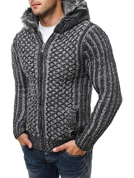 Ericdress Hooded Standard European Men's Sweater