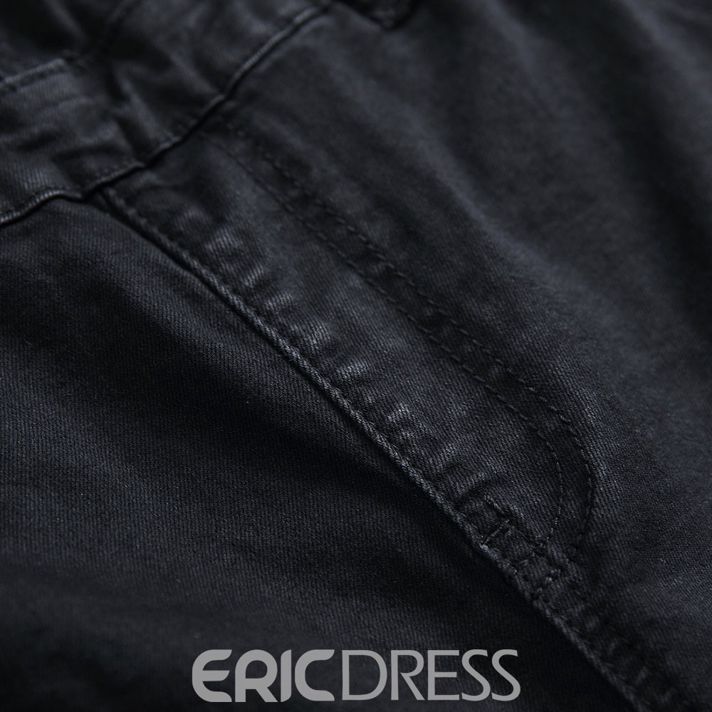 Ericdress Full Length Straight European Men's Jumpsuits/Overalls
