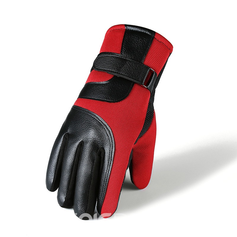 Ericdress Simple Color Block Fall Men's Gloves