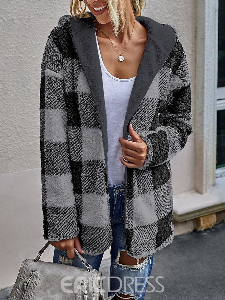 Ericdress Loose Long Sleeve Mid-Length Fall Jacket