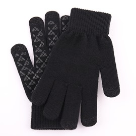 Ericdress Color Block Simple Winter Gloves