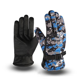Ericdress Sports Camouflage Winter Gloves