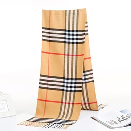 Ericdress Imitation Cashmere Fashion Color Block Scarves