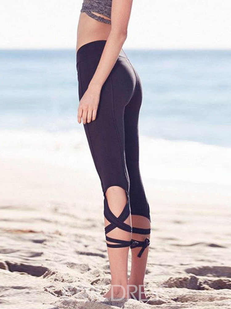 Ericdress Cotton Blends Solid Quick Dry Mid-Calf Tennis Pants