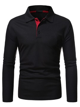Ericdress Button Men's Neck OL Polo Shirt