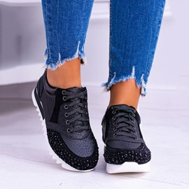 Ericdress Cross Strap Low-Cut Upper Lace-Up Patchwork Sneakers