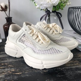 Ericdress Round Toe Low-Cut Upper Platform Plain Sneakers