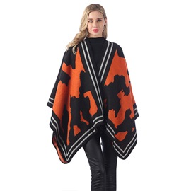 Ericdress Shawl Euroamerica Color Block Women's Scarves