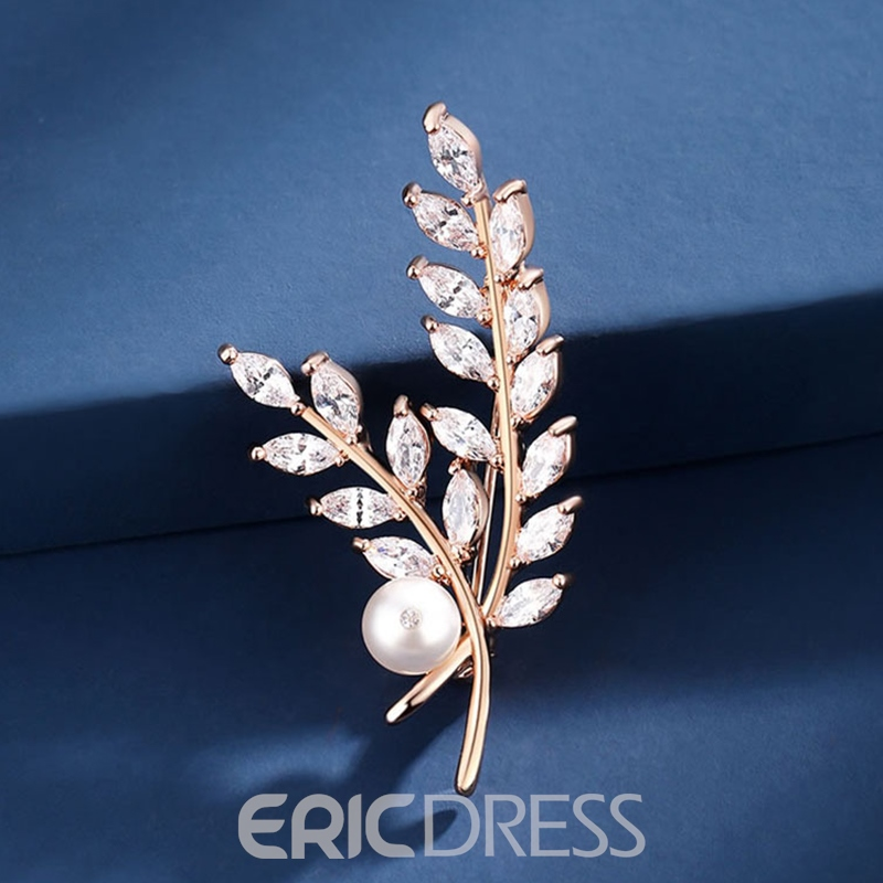Ericdress Trendy Plant Brooches Women's Brooches