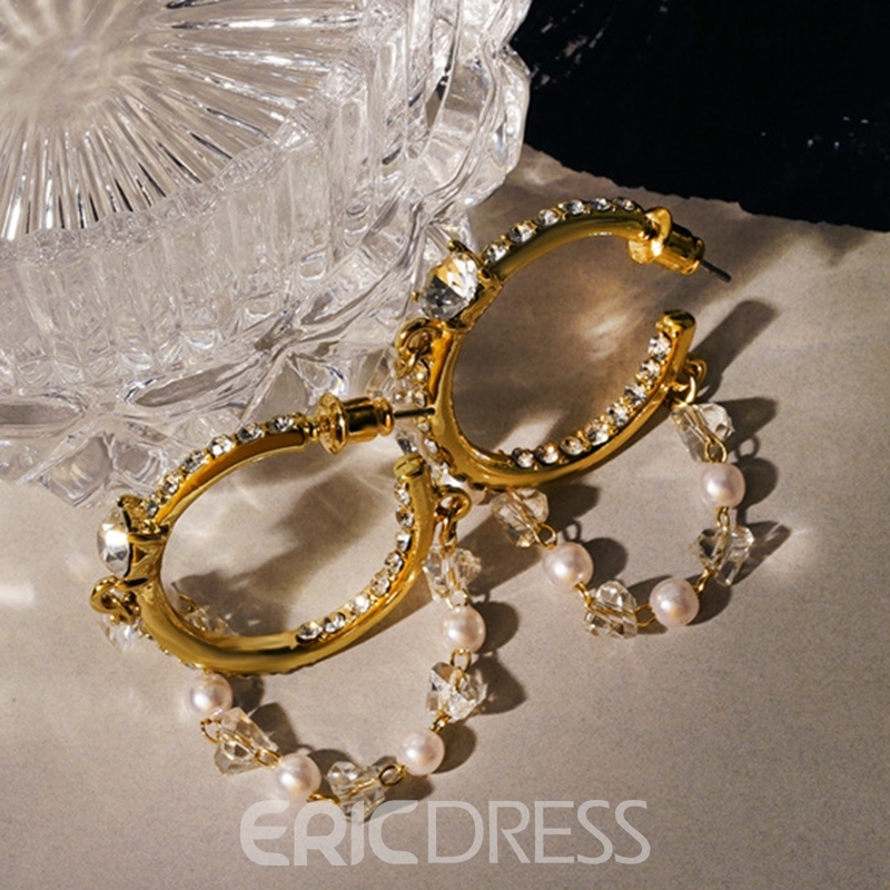 Ericdress Sweet Bronze Prom Earrings