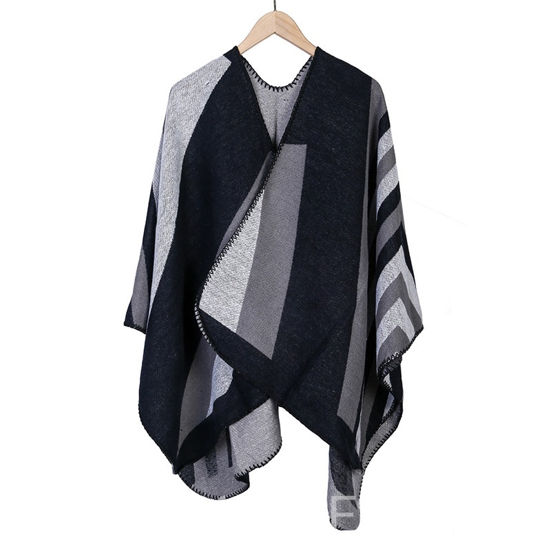Ericdress Fashion Shawl Color Block Scarves