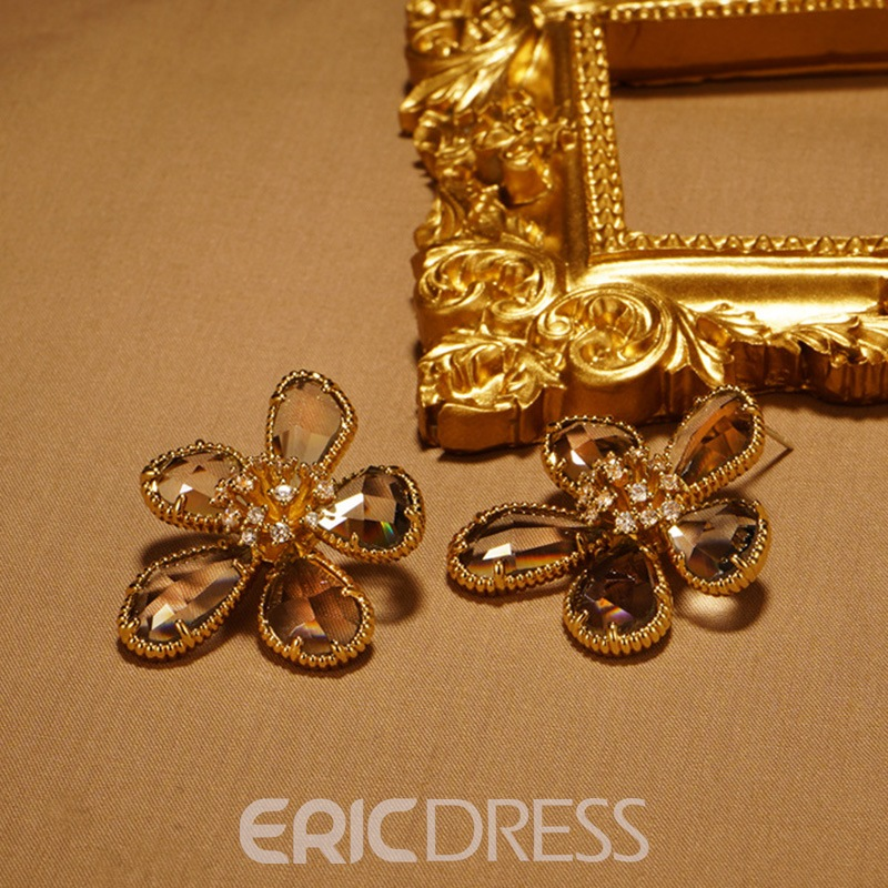 Ericdress Floral Korean Gift Earrings