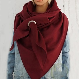 Ericdress Scarf Cotton Plain Scarves