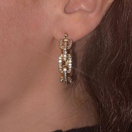 Ericdress Alloy E-Plating Holiday Earrings