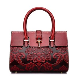 Ericdress Embossing Fashion Floral Tote Bags