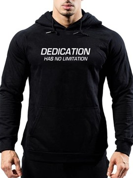 Ericdress Letter Print Pullover Loose Men's Hoodies