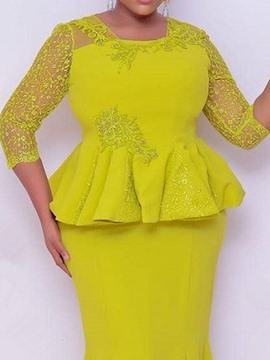 Ericdress Skirt Floral Lace Square Neck Women's Bodycon Two Piece Sets