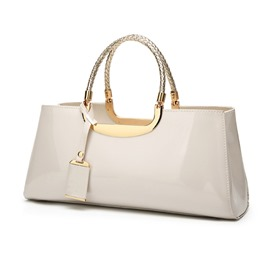 Ericdress Plain PU Fashion Tote Women's Bags