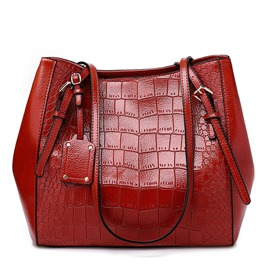 Ericdress Fashion Alligator PU Shoulder Women's Bags